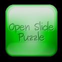 Open slide puzzle icon