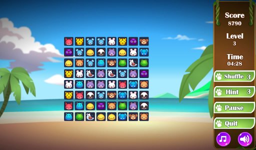 Animals Connect 3 - screenshot