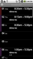 Screenshot of rtime-rec