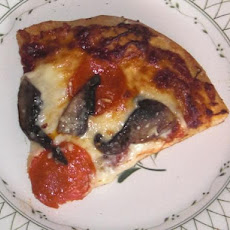 Kate L's Tipsy Mushroom Pepperoni Pizza
