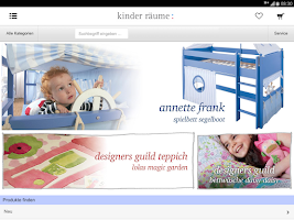 Screenshot of kinder räume ag