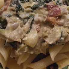 Artichoke Spinach Sauce for Pasta