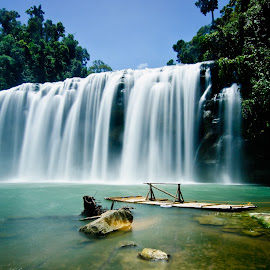 Tiny-an Falls by Jashper Delloroso - Landscapes Waterscapes ( tiny-an, wowphilippines, caragaregion, falls, tinuy-anfalls, ph )