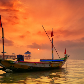 the boats by Ahmad Sahroni - Transportation Boats