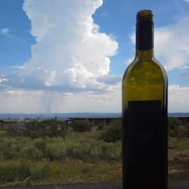 Enjoying the view, Mesa Verde by Barb Anne - Food & Drink Alcohol & Drinks