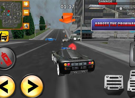 Crazy Driver Police Duty 3D - screenshot