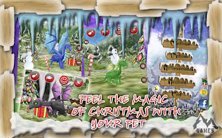 Screenshot of Dragon Pet: Christmas