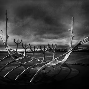 by Stephen Hooton - Buildings & Architecture Statues & Monuments ( iceland, boats, places )