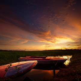 Agham 2 by Bahar Mappi - Landscapes Sunsets & Sunrises