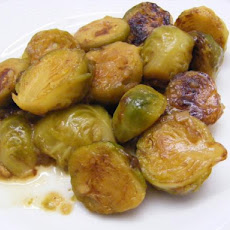French Onion Brussels Sprouts