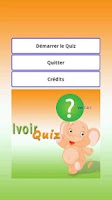 Screenshot of Ivoir Quiz