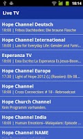 Screenshot of Hope Channel Free
