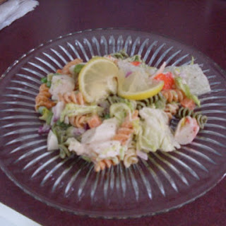4th of July Seafood Salad