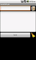 Screenshot of SendSMS.pk (SMS PK | Free SMS)