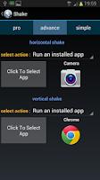Screenshot of Shake