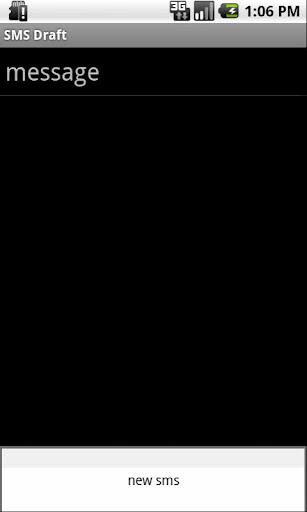 SMS Draft