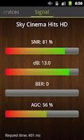 Screenshot of Enigma Signal Meter-SatFinder