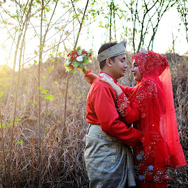by Sham Harun Thephotoscene - Wedding Bride & Groom