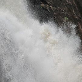 Courtallam Water Falls by Kumar Sankaralingam - Nature Up Close Water ( water, water drops, nature, waterscape, falls, landscape )