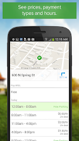 Screenshot of Parker, Find available parking