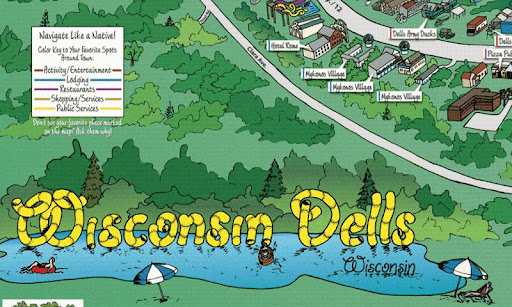 Wisconisin Dells Map App