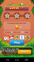Screenshot of Crazy Fruit Gather