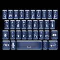 Plastic Blue Keyboard Skin icon