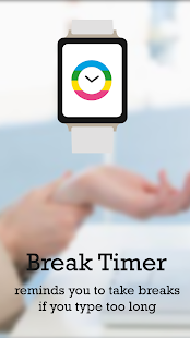 Break Timer: Type strain free