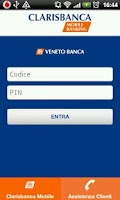 Screenshot of Clarisbanca Mobile Banking