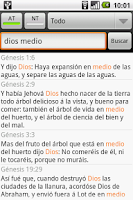 Screenshot of Santa Biblia (Holy Bible)