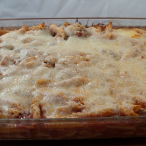 Baked Penne With Italian Sausage