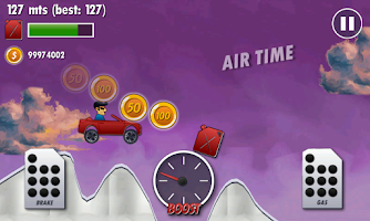 Screenshot of Mountain Climb Racer