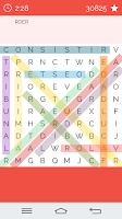 Screenshot of Word Search Brazilian