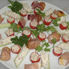 Fruit & Prosciutto Appetizers