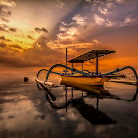 Towards The Sun by Ade Irgha - Transportation Boats
