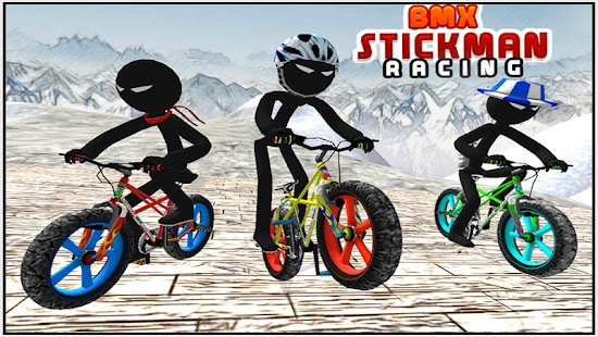 BMX Stickman Racing - screenshot