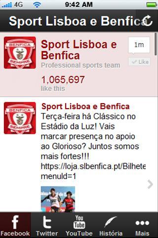 Sport Lisboa e Benfica Social
