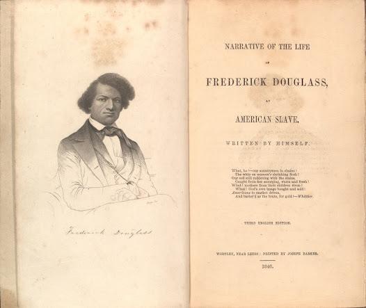 "In l845, Douglass published his <a href=""http://www.gilderlehrman.org/collections/cd715df8-9712-4c51-9ee6-354477033327"">autobiography</a>, <i>Narrative of the Life of Frederick Douglass, An American Slave. Written by Himself.</i>, and dedicated his life to crusading against slavery."