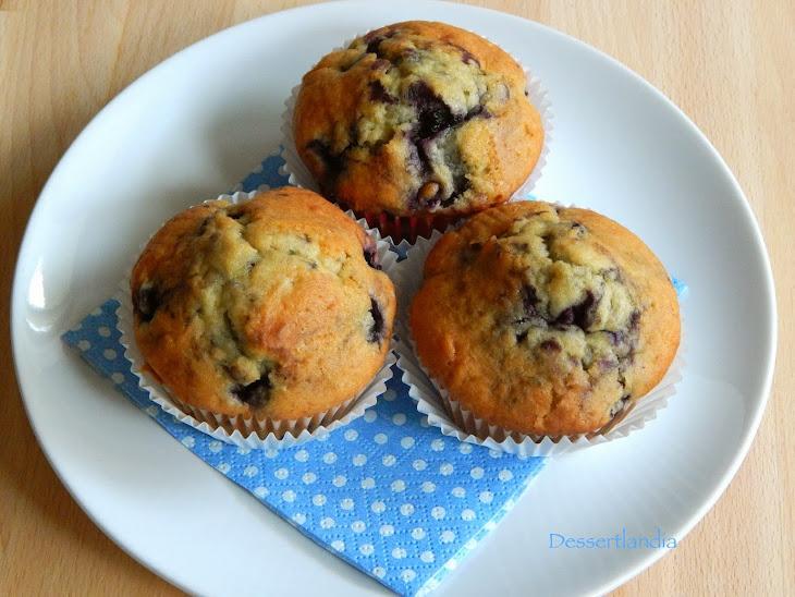 Blueberry Doughnut Muffins Recipe | Yummly