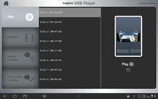 Screenshot of Logitec WiFi DVD