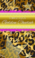 Screenshot of Gold Black Leopard Star Theme