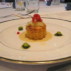 Scallop Pie with Lobster Sauce