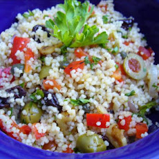 Strange yet Wonderful Couscous Salad