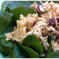 Honey Mustard Chicken Salad w/ Cranberries Print
