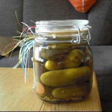 Homemade Gherkins