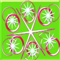 Crazy Home Green Circle Shine icon