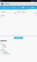 Screenshot of Italian<->Russian Dictionary