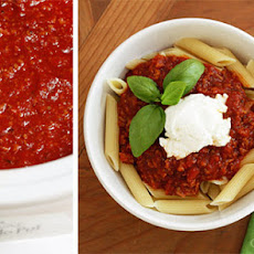 Crock Pot Pasta Sauce with Sausage