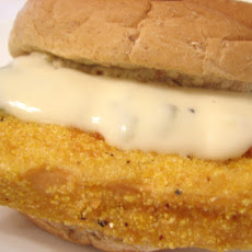 Easy Tofu Fillet Sandwich With Tartar Sauce