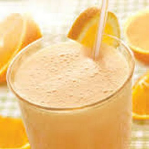 Orange Flax Seed Smoothie